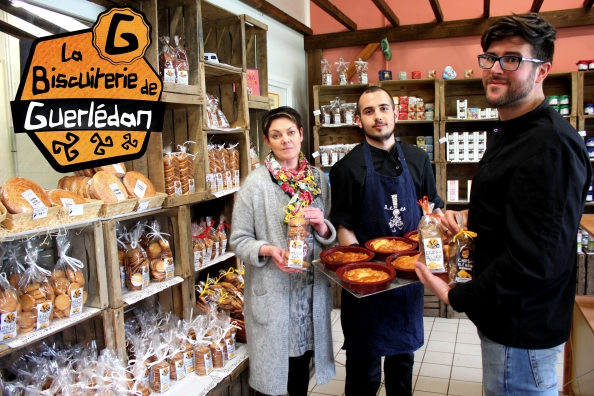 Photos de la Biscuiterie de Guerlédan Mûr de Bretagne